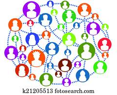 global Connecting people network