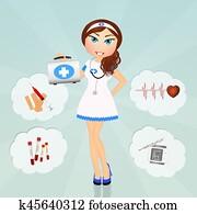 funny nurse girl