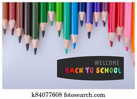 Back to School banner. Education and school concept.