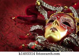ornate carnival mask