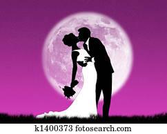Weddings in the moon