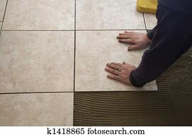 Flooring Tiles Stock Image K1147361 Fotosearch