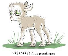 Sad Little Lamb