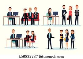 group of people human resources