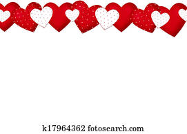 valentine`s border