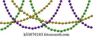 Mardi Gras decoration