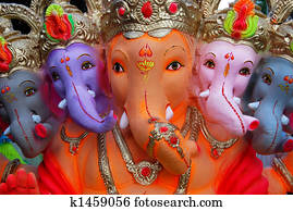 Ganesh the Elephant God of India