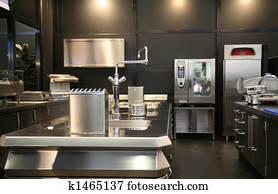 new industrial kitchen