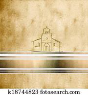 background first communion Church