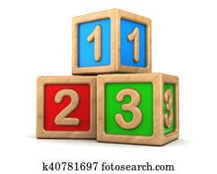 toy cubes