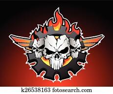 skulls trio motor