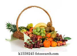 Fruit Basket Stock Photo Images 80 573 Fruit Basket Royalty Free