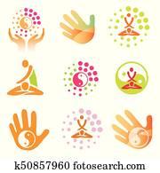 Icons massage