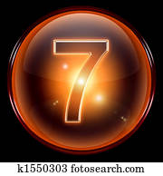 number seven icon.