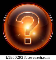 question symbol icon.