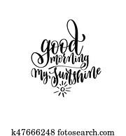 Guten Morgen Mein Sonnenschein Clip Art K30604966