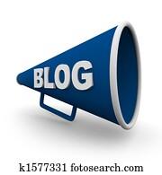 Blog Bullhorn - Isolated