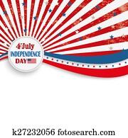4th July Stars Stripes Flyer