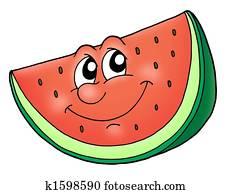 Smile watermelon