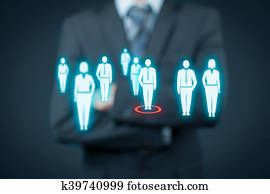Human resources and leader