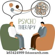 Psychotherapy treatment concept