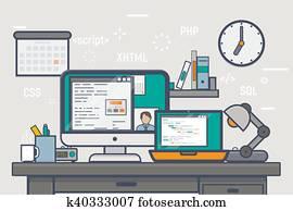 freiberuflich, website, entwicklung