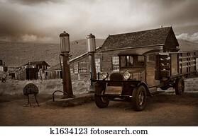 Bodie Gas Station