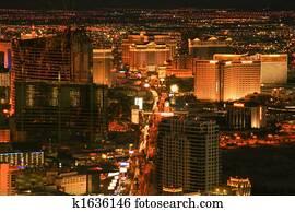 Las Vegas Night Shot