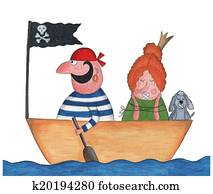 Pirate and Princess