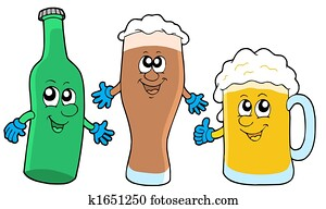 Cute beer collection