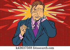 Eye pain, fatigue and poor vision