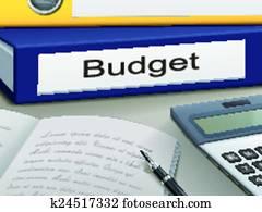 budget, mappen