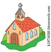 European style church