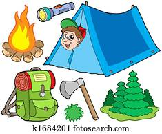 Camping collection