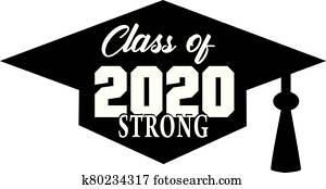 klasse, von, 2020, starke, spruchbaender