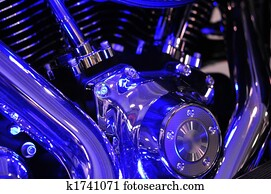 Motorbike engine blues