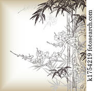 chinese tree background