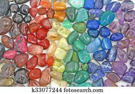Rainbow Crystal tumbled stones