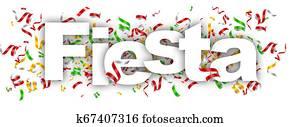 fiesta label