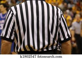 Ref Watching the Game