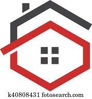 letter G house logo