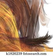 Fractal hair