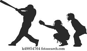 baseball batter catcher and umpire
