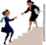 Mentorship, programm, für, frauen