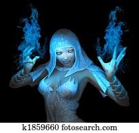wizard girl