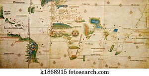 Medieval map of the world