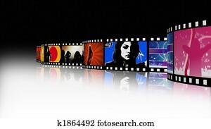 Music and Dance Film Reel