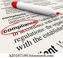 Compliance Word Dictionary Definition Word Meaning
