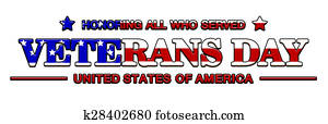 logo veterans day of usa