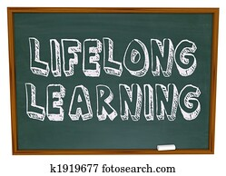 Lifelong Learning - Chalkboard